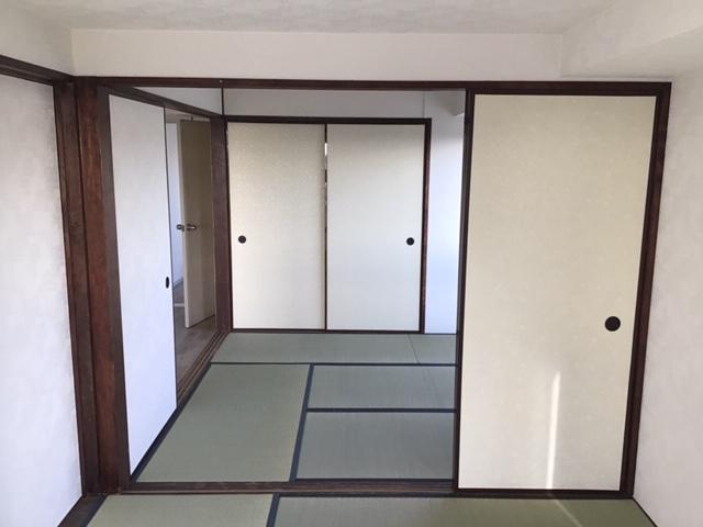 小田原市H様邸壁紙クロス・床リフォーム内装事例